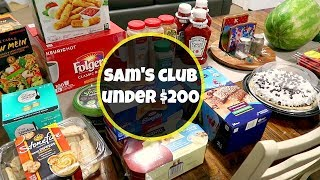 Sam's Club Grocery Haul | Family of 6