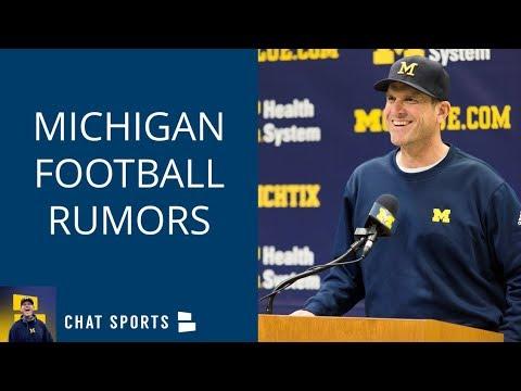 Michigan Football Rumors: Jim Harbaugh's Latest, Dax Hill & Zach Harrison, Shea Patterson's Impact