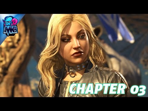 Injustice 2 - Chapter 03 - THE BRAVE AND THE BOLD (Let's Enjoy Walkthrough 1080p60fps) PS4 Pro