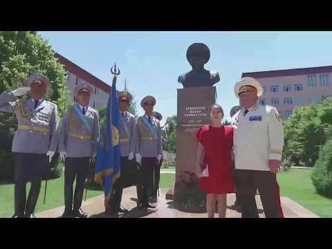Открытие памятника Макана Есбулатова в Алматинской академии МВД РК им. Макана Есбулатова