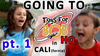 Going to Toys for Bob HQ in California (Part 1)