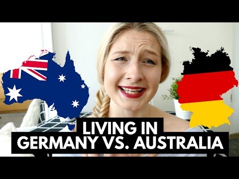 AUSTRALIA VS. GERMANY - MY HONEST EXPERIENCE