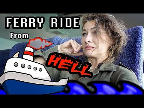 Ferry Ride from HELL !  Adventure riding in Oman and why I don