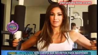 Magaly Teve: Melissa Loza nos cuenta sus secretos para mantener cuerpazo [03-07-2012]