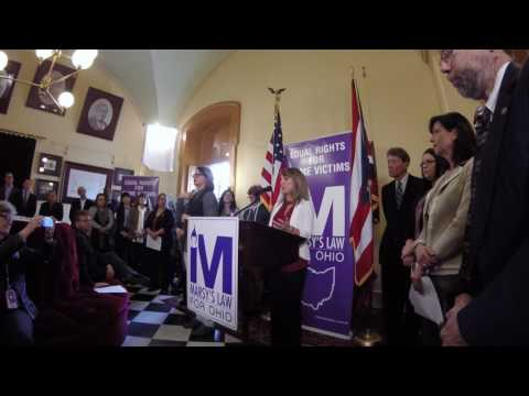Marsy's Law for Ohio Campaign Kickoff, 2 of 3