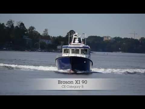 """Shipsforsale Sweden, Broson Boat XI 90 """"Norrsken"""", Work boat yacht. Sold."""
