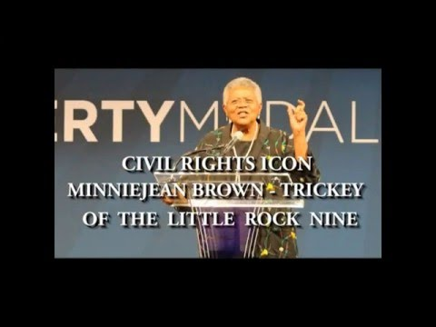 Civil Rights Icon Minnijean Brown Trickey: Heroes Then & Now!