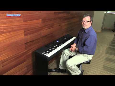 Casio Privia PX-350 Digital Piano Demo - Sweetwater Sound