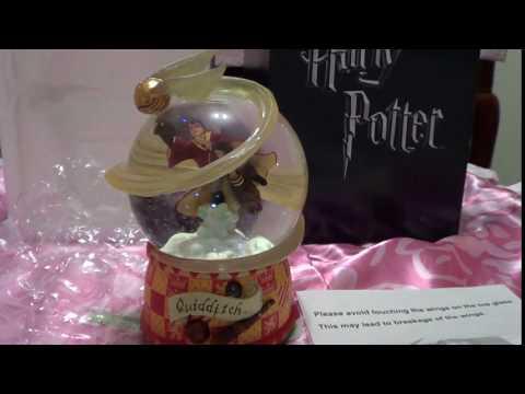 Harry Potter Quidditch Water Globe San Francisco Music box