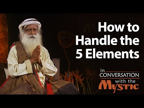 How to Handle the 5 Elements - Vinita Bali With Sadhguru