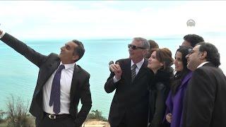 مصر العربية | سلفي باسم يوسف والفنانين : في مهرجان أيام قرطاج السينمائي