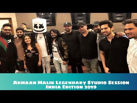 Legendary Studio Session   Armaan M, Arijit S, Pritam, Badsha, Neha K, MarshMello & More   SLV 2019