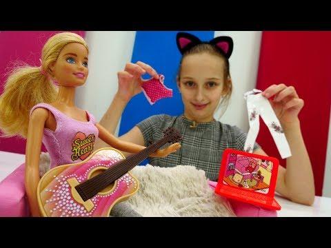 Игрушки для девочек - Барби на пижамной вечеринке