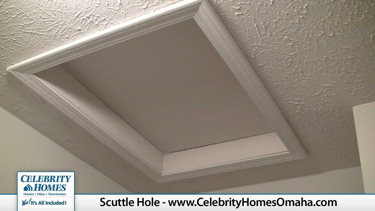 Celebrity Homes Home Tips Scuttle Hole Youtube