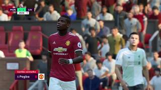 FIFA 18 Manchester United VS Liverpool Gameplay HD