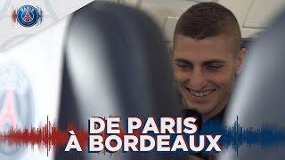 De Paris à Bordeaux avec Marco Verratti, Kylian Mbappé, Thiago Silva et Neymar Jr
