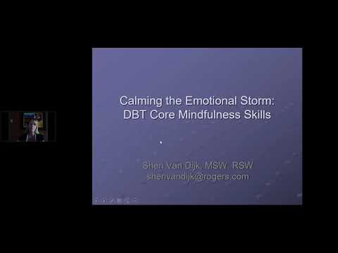 Calming The Emotional Storm  DBT Core Mindfulness Skills 3