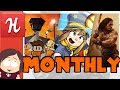 Humble Monthly August    Hat in Time, Escapists 2, Conan Exiles