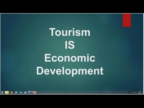 Tourism is Economic Development:  Creating or Enhancing Your Chamber s Tourism Progr