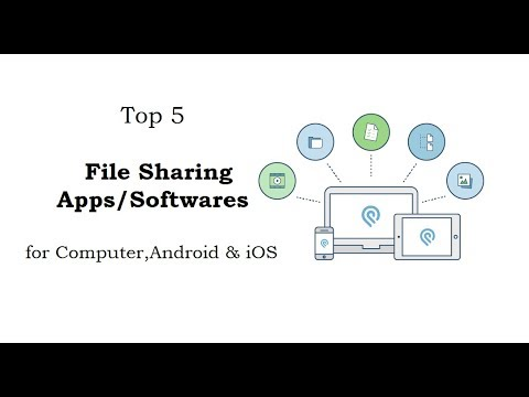Top 5 File Sharing App/software For Computer,Android & IOS