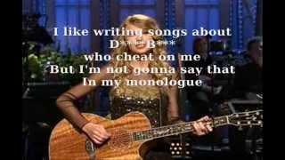 Taylor Swift - The Monologue Song