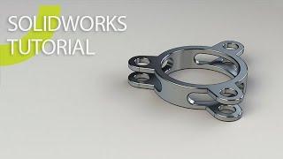 Solidworks 2020 Circular Pattern beginner Tutorial