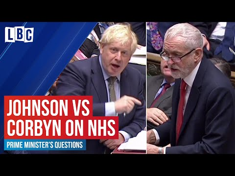 Boris Johnson vs Jeremy Corbyn on the NHS and rising waiting times | House of Commons