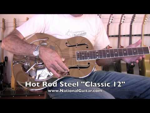HOT ROD STEEL Guitar SLIDE DEMO