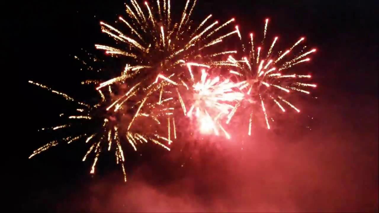 See in Flammen - Feuerwerk Berga Kelbra 2014 (HD)
