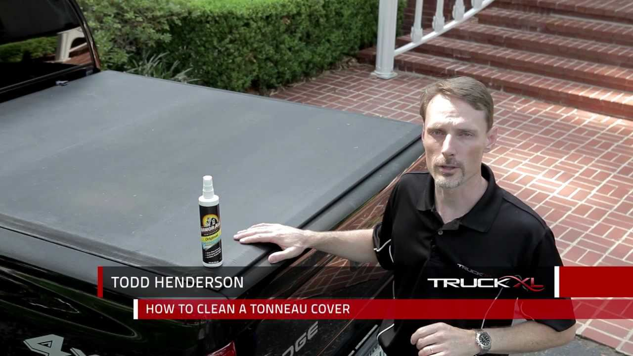 How To Clean Maintain Your Tonneau Cover Youtube