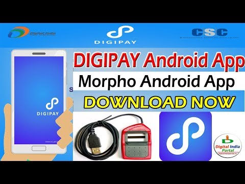Digipay Android App And Morpho RD Service Android App Download