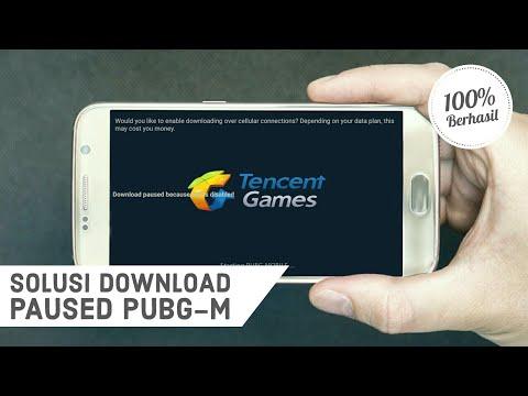 Cara Mengatasi Download Paused Because Wifi Is Disable PUBG Mobile