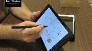 Dell Venue 8 Pro Stylus Pen input test first impressions