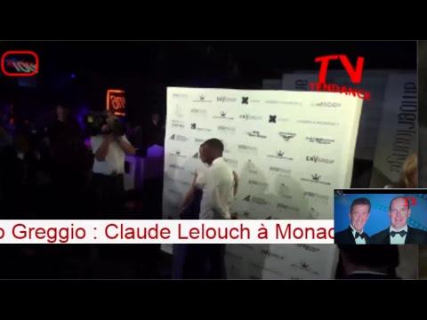 direct de Tendance TV  : 2018  Festival de la Comédie de Monaco - Ezio Greggio-  Claude Lelouch
