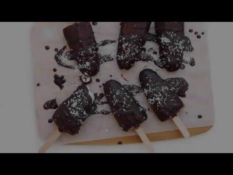 FEEL GOOD TREATS: VEGAN MAGNUM ICE CREAM POPSICLES