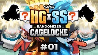 WE ARE RIVALS! | Pokemon HeartGold and SoulSilver Cagelocke EP01