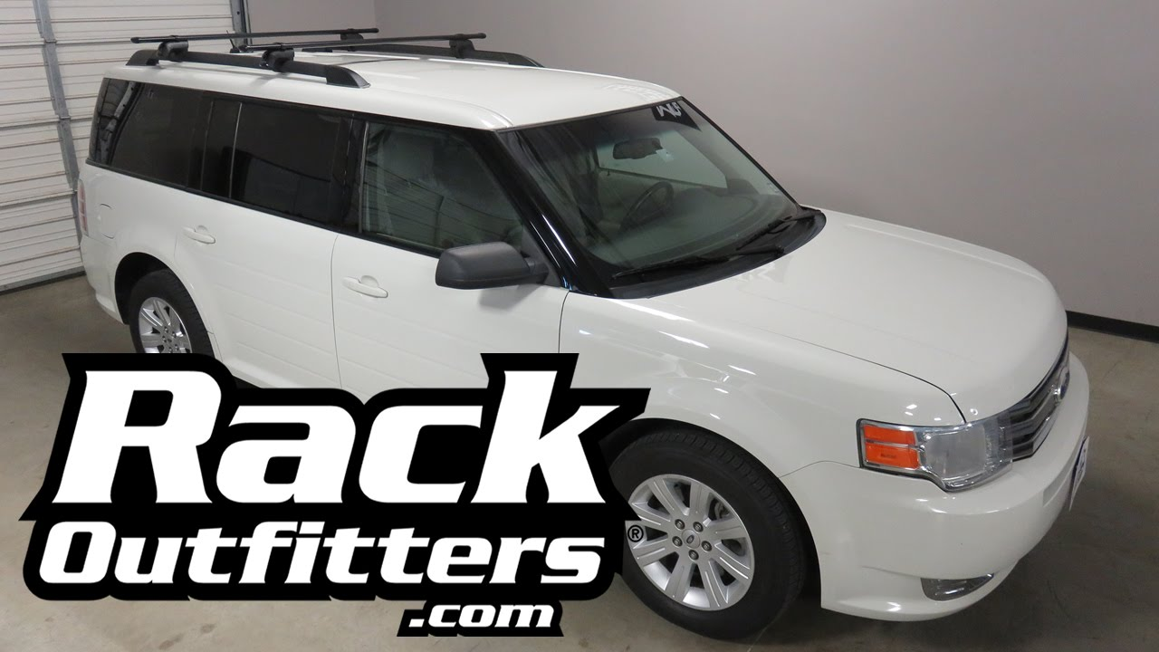 2010 Ford Flex Roof Rack Cross Bars