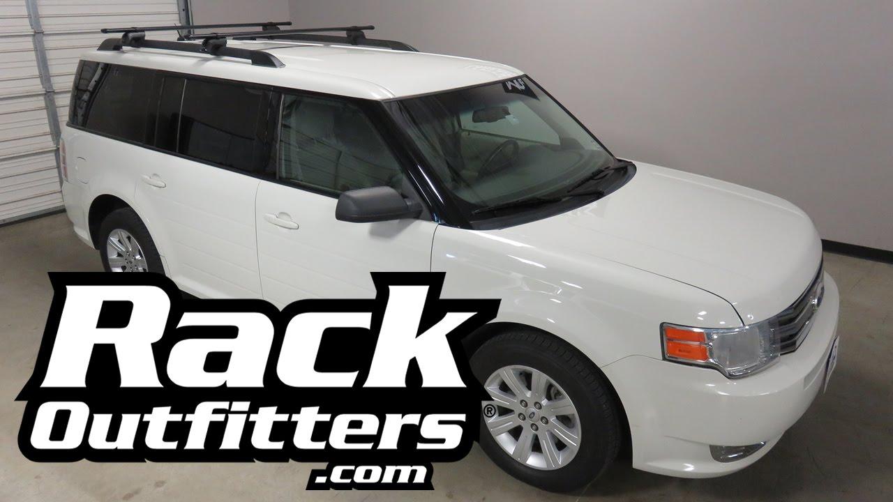 Ford Flex With Yakima Timberline Corebar Base Roof Rack