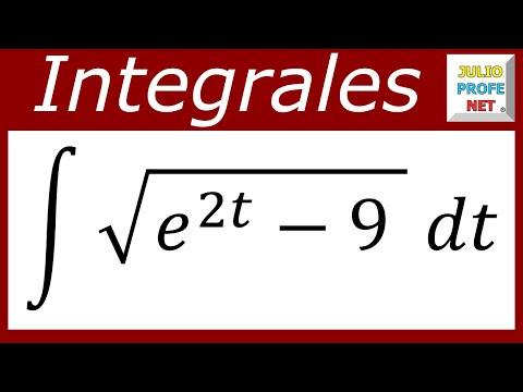 INTEGRACIÓN POR SUSTITUCIÓN TRIGONOMÉTRICA - Ejercicio 6