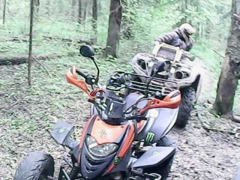 Покатушка #2/Patron Scaner 250 and Stels 500h/Прохват по лесу