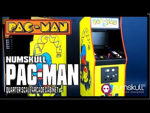 Numskull Bandai Pac-man Quarter Scale Arcade Cabinet | Video Review ADULT COLLECTIBLE