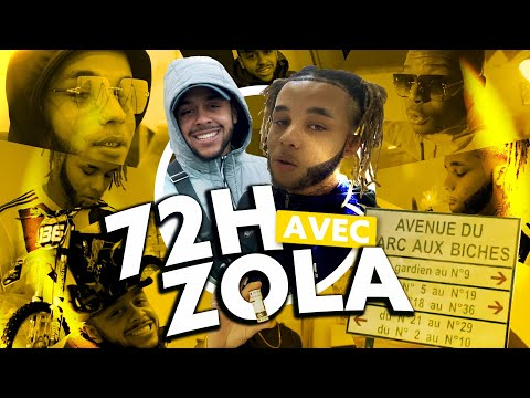 Youtube: 72h avec Zola: Le clip avec Ninho, Shooting de sa cover, Séance dédicace..