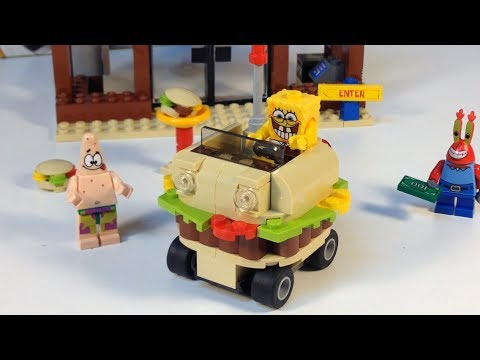 Lego 3833 Krusty Krab Adventures Nickelodeon Spongebob Squarepants