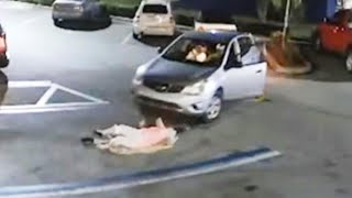 Purse Snatcher Nearly Runs Over Elderly Woman Who Chased Him in Florida