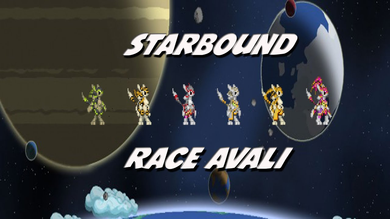 race avali   mod   starbound fr   youtube