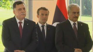 أخبار عربية - حفتر والسراج: الحل في #ليبيا لن يكون إلا سياسيا