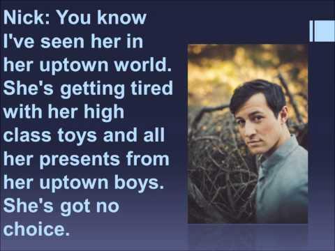 Uptown Girl Glee Lyrics