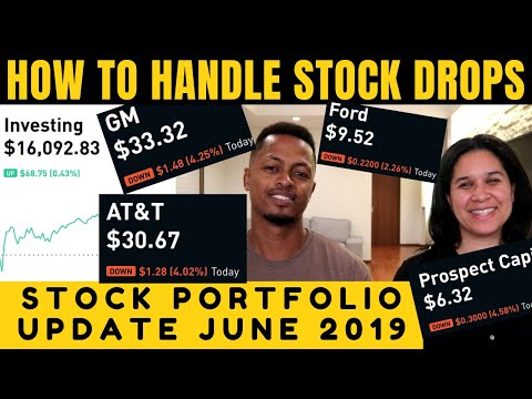 OUR STOCK PORTFOLIO UPDATE | Dealing with Stock Market Emotions (Ep. 7 - June 2019)