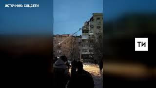 В соцсетях появилось видео с места взрыва бытового газа в жилом доме в Ростовской области