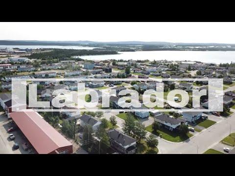 Drone Labrador City, Newfoundland and Labrador, Canada